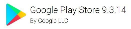 google play store 9.3.14