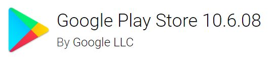 google play store 10.6.08
