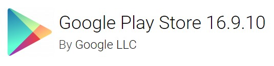 google play store 16.9.10