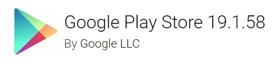 google play store 19.1.58