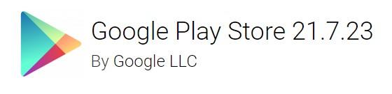 google play store 21.7.23
