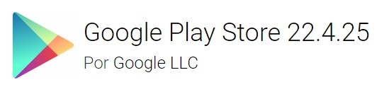Google Play Store version 22.4.25
