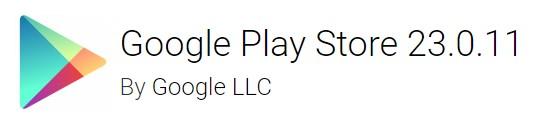 Google Play Store version 23.0.11