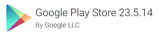 Google Play Store version-23.5.14