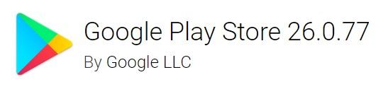 Google Play Store version 26.0.7