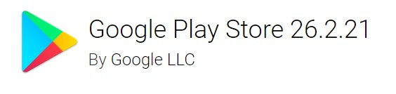 Google Play Store version 26.2.21